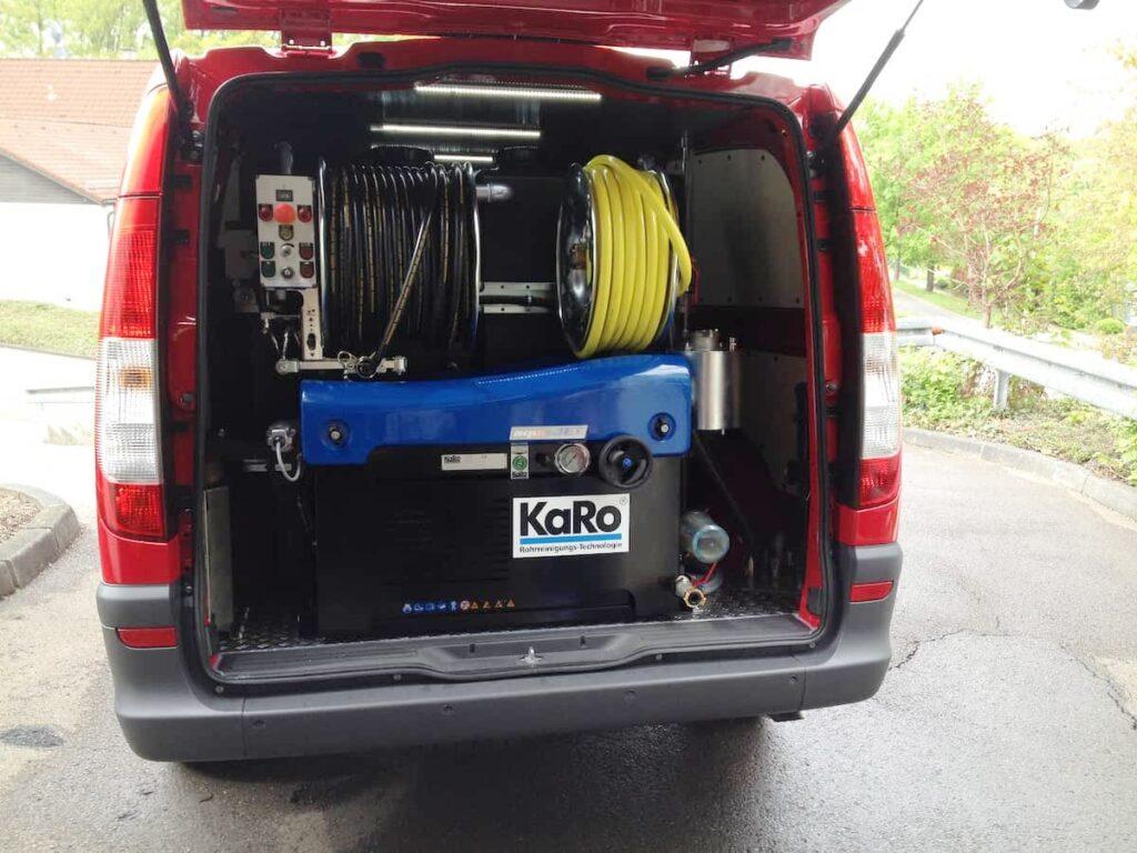 Wasserhochdrucktechnik